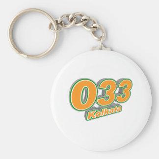 033 Kolkata Keychain