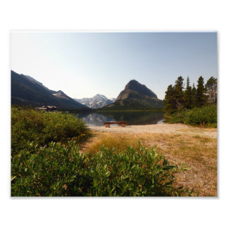 0340 8/12 St Mary Lake in Glacier Art Photo