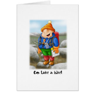 03 Go take a hike Card