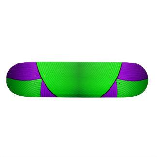 03 Green & Purple Skateboard Skateboard Deck