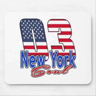 03 New York Soul Birthday Designs Mouse Pad