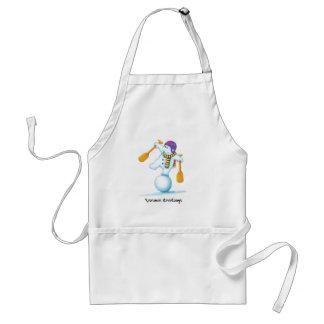 03_snowman standard apron