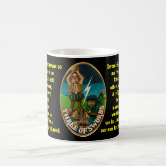 03. Three of Swords - Sailor tarot Coffee Mug