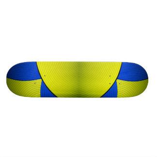 03 Yellow & Blue Skateboard Skate Board Deck
