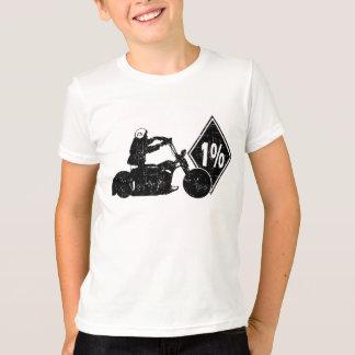 0413032011 Biker 1% Distress (Biker) T Shirt