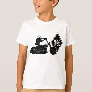 0413032011 Biker 1% Distress (Biker) Tee Shirts