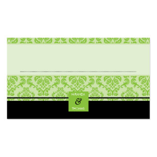 041 Patricia :: reception seating cards Business Card Template