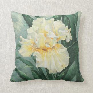 0434 Cream Iris Cushion