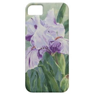 0440 Purple Iris iPhone 5 Covers