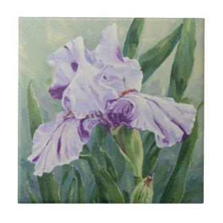 0440 Purple Iris Tile