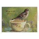 0470 Sparrow Sympathy Card