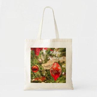 047HD- Holiday Decorations Budget Tote Bag