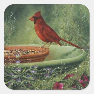 0487 Cardinal Stickers