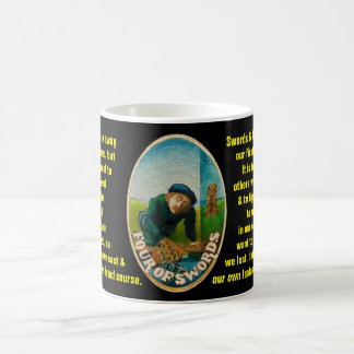 04. Four Swords - Sailor tarot Coffee Mug