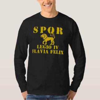04 Vespasian's 4th Lucky Roman Legion Lion Apparel T-shirt