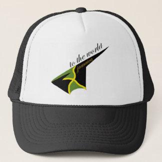 0500 Jamaica To The World Trucker Hat