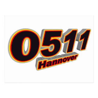 0511 Hannover Postcard