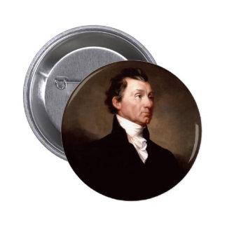 05 James Monroe 6 Cm Round Badge