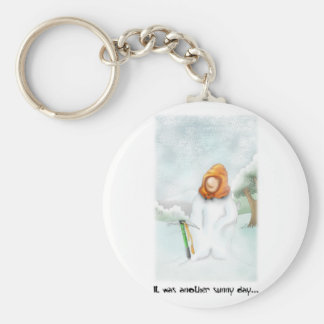 05. Snowman Key Ring
