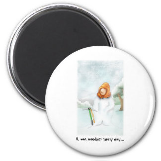 05. Snowman Magnet