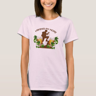 (05) The Hiking for Hops Womans Basic Tee