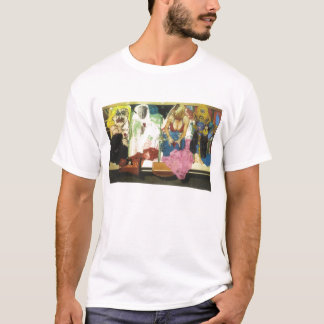 069_4 Faces Of Eve T-Shirt