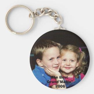 06.11LynxHannah, The Best Grand Basic Round Button Key Ring