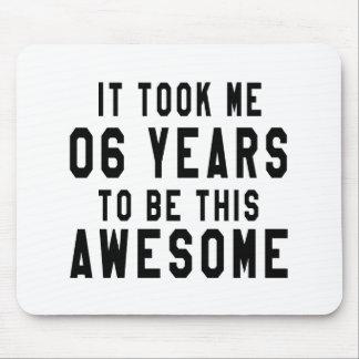 06 birthday designs mouse pad