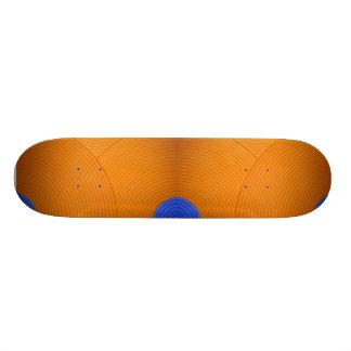 06 Blue & Orange Skateboard Skateboard