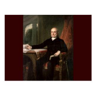 06 John Quincy Adams Postcard
