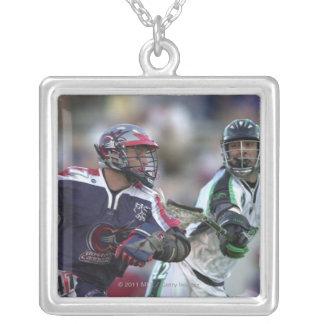 06 Jul 2001:   Joe Ghedina #42  Long Silver Plated Necklace