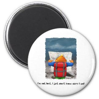 06. Lost 6 Cm Round Magnet