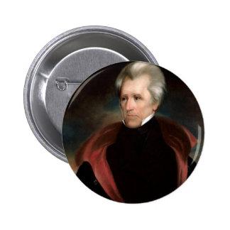 07 Andrew Jackson 6 Cm Round Badge