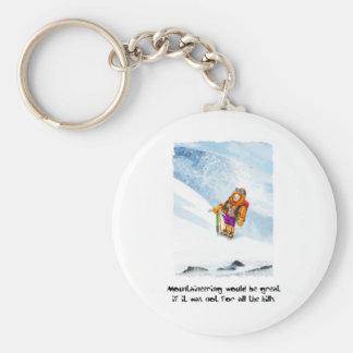 07. Mountain Basic Round Button Key Ring