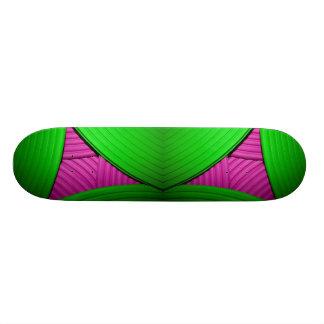 07 Pink & Green Skateboard Skate Boards