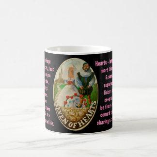 07. Seven of Hearts- Sailor tarot Coffee Mug