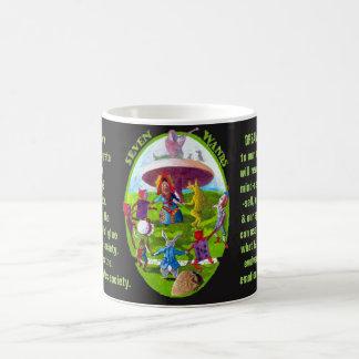 07. Seven of Wands - Alice tarot Coffee Mug