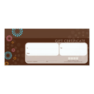 "081 Frances :: GIFT CERTIFICATES :: retrospot 5 4"" X 9.25"" Invitation Card"