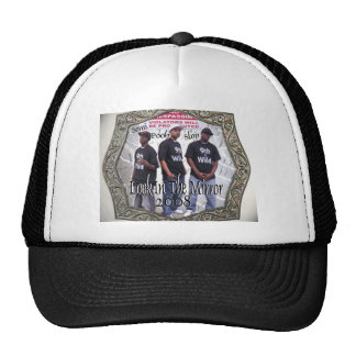 08 Cd Cover Mesh Hats