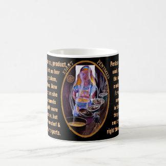 08. Eight of Pentacles - Alice tarot Coffee Mug