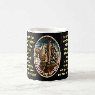 08. Eight of Swords - Sailor tarot Coffee Mug