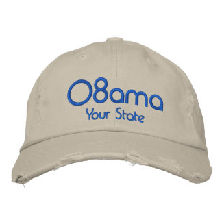 08ama, Customizable Your State Embroidered Hat