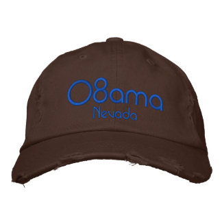 08ama, Nevada Embroidered Baseball Cap