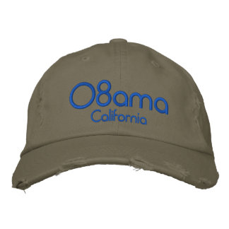 '08bama, California Embroidered Hats