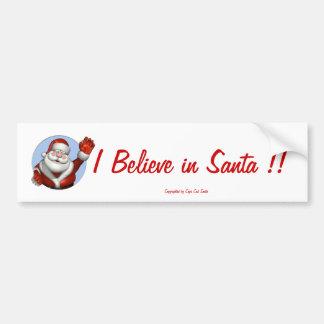 097, Santa#1, 508-685-1124, CapeCodSanta.com Bumper Sticker