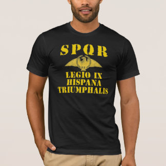 09 9th Spanish Triumphant Legion - Roman Eagle T-Shirt