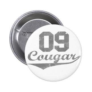 09 Cougar 6 Cm Round Badge