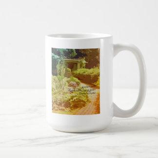 09 Mug - Original Art & Haiku - garden path