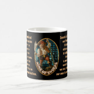 09. Nine of Swords - Sailor tarot Coffee Mug