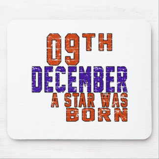 09th December a star was born Mouse Pad